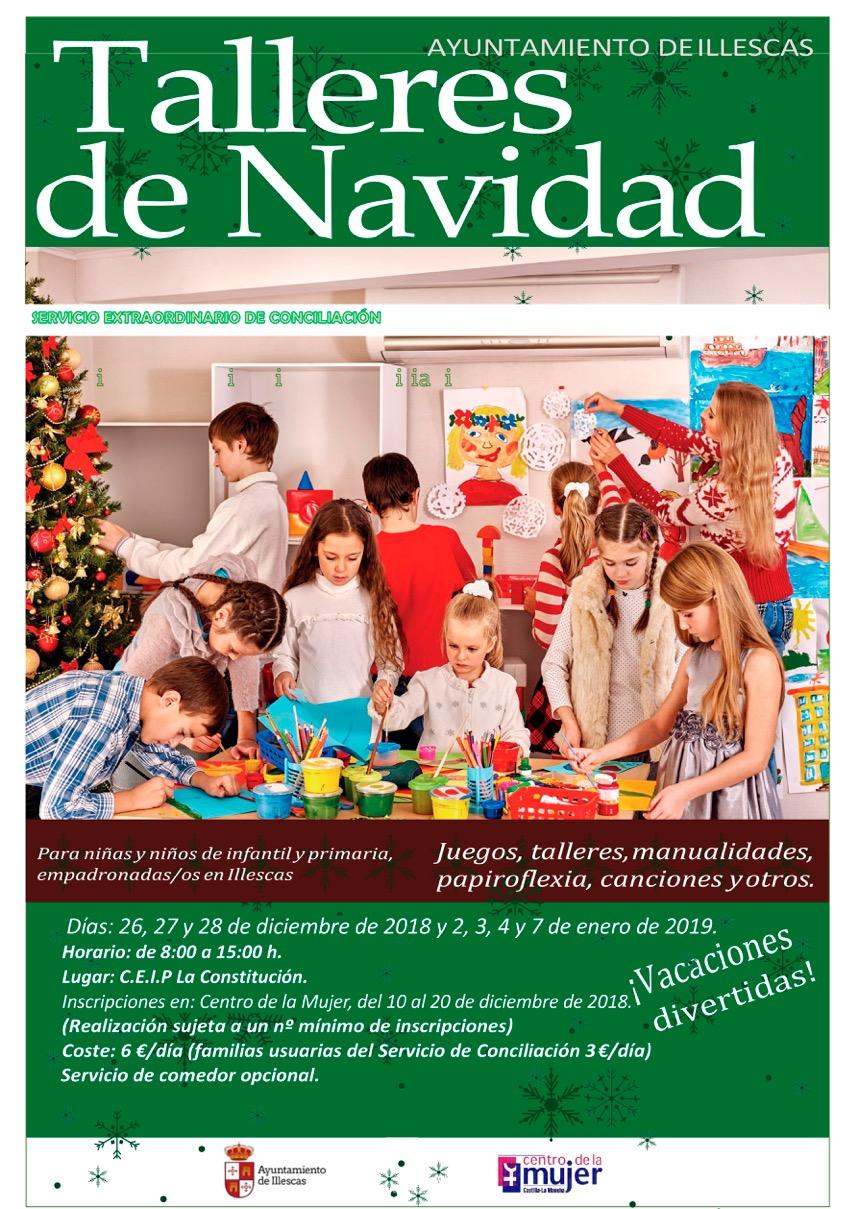 Abierto El Plazo Para Inscribirse En Los Talleres De Navidad